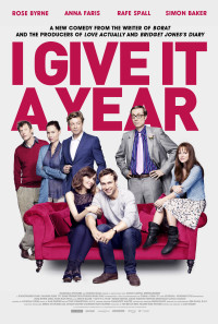 I Give It a Year Poster 1