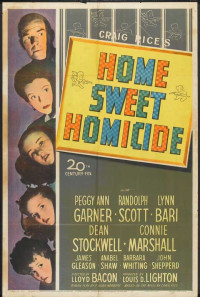 Home, Sweet Homicide Poster 1