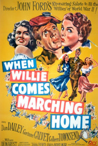 When Willie Comes Marching Home Poster 1