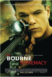 The Bourne Supremacy Poster 1