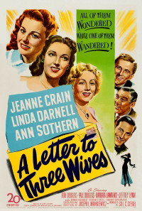 A Letter to Three Wives Poster 1