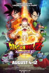 Dragon Ball Z: Resurrection 'F' Poster 1