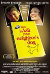 How to Kill Your Neighbor's Dog Poster 1