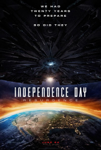 Independence Day: Resurgence Poster 1