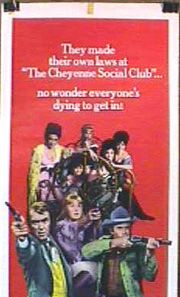 The Cheyenne Social Club Poster 1