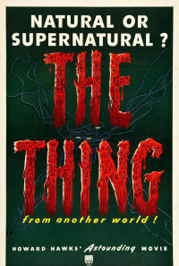 The Thing from Another World Poster 1