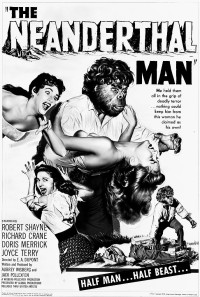The Neanderthal Man Poster 1