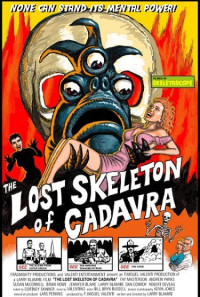 The Lost Skeleton of Cadavra Poster 1