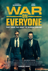 War on Everyone Poster 1