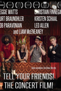 Tell Your Friends! The Concert Film! Poster 1