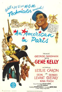 An American in Paris Poster 1