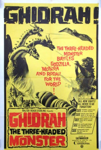 Ghidorah, the Three-Headed Monster Poster 1
