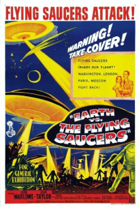 Earth vs. the Flying Saucers Poster 1