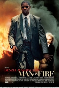 Man on Fire Poster 1