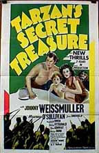Tarzan's Secret Treasure Poster 1