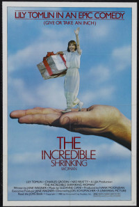 The Incredible Shrinking Woman Poster 1