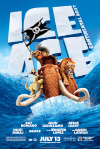 Ice Age: Continental Drift Poster 1